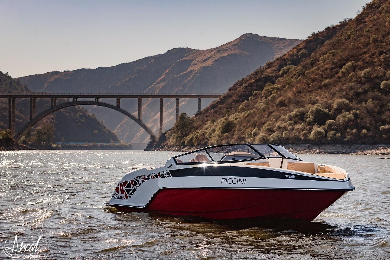 043_Piccini boats, lanchas 229, puente dique lago san roque